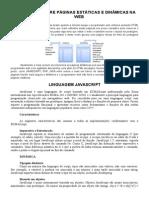 DIFERENÇAS ENTRE PÁGINAS ESTÁTICAS E DINÂMICAS NA WEB.doc