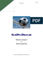 Kevin Laverick - What is Value.pdf