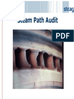 Steam Path Audit of Steam Turbine