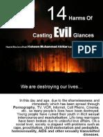 14 Harms of Casting Evil Glances