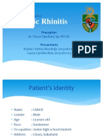 Case Rhinitis Allergy