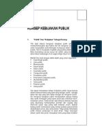 MATA KULIAH KEBIJAKAN PUBLIK - KEBIJAKAN PUBLIK 1.doc