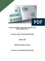 reporte de normalizacion en mexico.doc