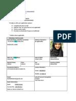 Trainer Application Form (2013) v20131211