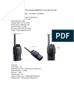 BFDX BF-5112 cheap handheld two way radios for sale.doc