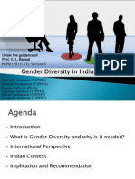 Legal Aspects of Business - Gender Diversity