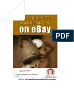 The Expert Guide to Cashing in on E Bay