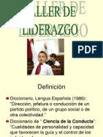 TALLER DE LIDERAZGO.ppt