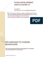 PCMLSB- Influencing to Change Behaviours