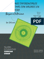 Ecuaciones Diferenciales - 4ta Ed. - William Boyce & Richard Diprima