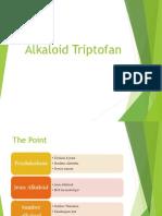 Alkaloid Triptofan