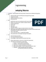 Macro Handouts