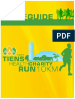 Tiens Health Charity Run - Guide Book