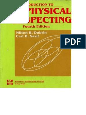 1988 Geophysical prospection_TXT pdf | Reflection Seismology