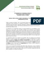 MANUAL DESARROLLO Y EVALUACIÓN DE LA COMPRENSIÓN LECTORA.doc