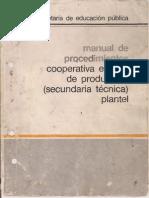 Manual de Procedimientos Cooperativa Escolar.pdf
