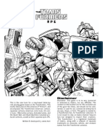 Transformers Game Rules 2 Nded v 14