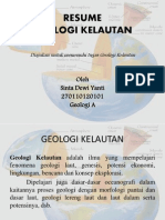 Geologi Kelautan