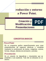 Creacion y Modificacion de Presentaciones en Power Point