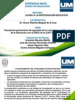 Presentación Vinculacion Egresados UM2014.pptx