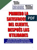 Primero la Satisfacción del Cliente, Después las Utilidades .doc