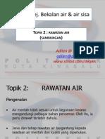 C5305 Topik 2 Teknik Rawatan Air