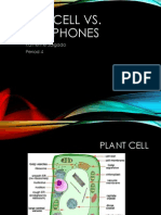 plant cell vs  smartphone