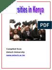 What Do Universities in Kenya Offer