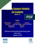 Improving Substation Reliability & Availability_09162009