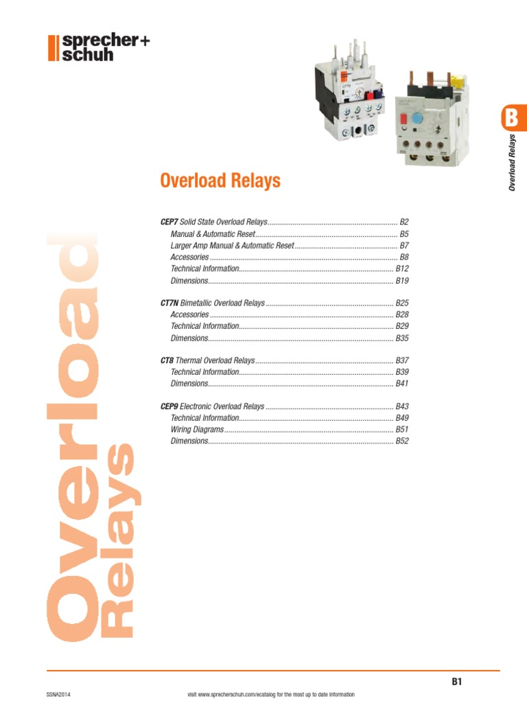 motor protection section b relay switch rh scribd com