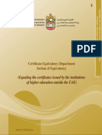 Certificate Equivalency UAE