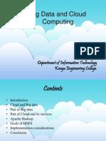 Big Data and Cloud Computing