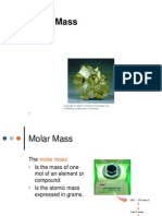 ppt- molar mass