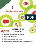 9 Aptis Reading Overview