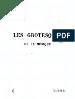 Les Grotesques de la Musique / Berlioz, Héctor