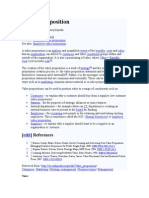 Value Proposition - Wikipedia, The Free Encyclopedia