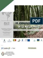 VII Jornadas Forestales de la Macaronesia 2014