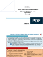 Annual Health, Labour and Welfare Report 2013