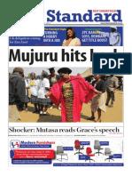 The Standar Newspaper 26 October 2014