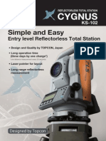 Alam Survey 087885028163 - Jual Total Station Cygnus KS 102