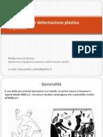 Deformazione Plastica - Forgiatura