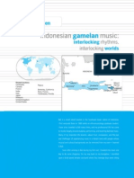 M. Bakan, Indonesian Gamelan Music