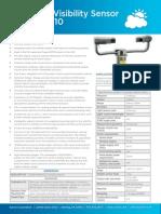 Hss Visibility Sensor Datasheet