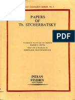 Stcherbatsky, Th. - Papers of Th. Stcherbatsky (Ed. Gupta,1975)