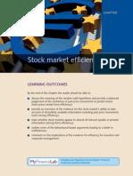 Market Efficiency Hypothesis