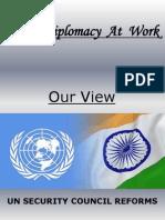 3018 Indian Diplomacy at Work