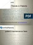 Latest Trends in Patents