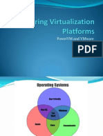 Comparing Virtualization Platforms - PowerVM and VMWare