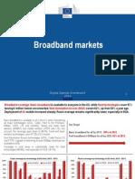 Trends in European Broadband Markets 2014