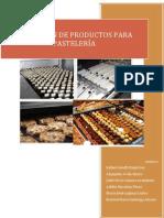 OBTENCIÓN DE PRODUCTOS PARA PASTELERÍA. GRUPO 6.pdf